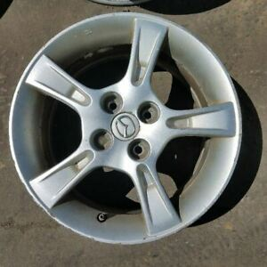 Wheel 15x6 Alloy 5 Notched Spokes Fits 02 03 Mazda Protege 328943