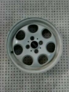 Wheel 15x5 1 2 Alloy 7 Hole Convertible White Fits 02 09 Mini Cooper 327251