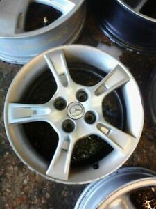 Wheel 15x6 Alloy 5 Notched Spokes Fits 02 03 Mazda Protege 306388