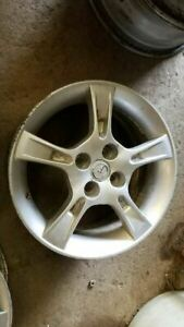 Wheel 15x6 Alloy 5 Notched Spokes Fits 02 03 Mazda Protege 298864