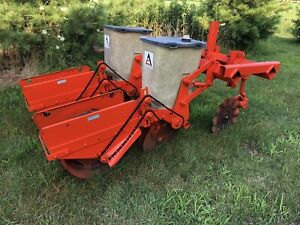 Allis Chalmers No Till 2 Row Corn Planter