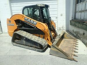 2014 Case Tv380 Skid Steer Erops Heat ac 2 Spd Aux Hydraulics 84 Hp Diesel