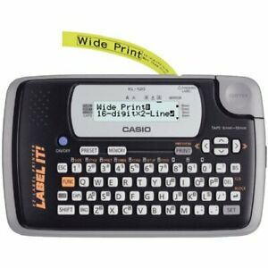 Casio Kl 120 Portable Thermal Label Maker