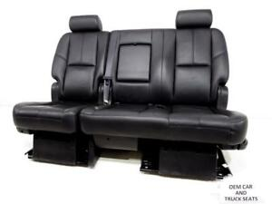Gm Tahoe Yukon Rear 60 40 Bench Seat 2007 2008 2009 2010 2011 2012 2013 2014