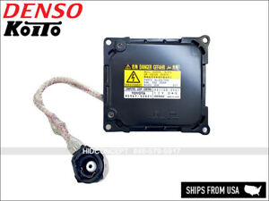 Original Part Denso Hid Xenon Headlight Ballast For Toyota 12v 45v 85967 52021