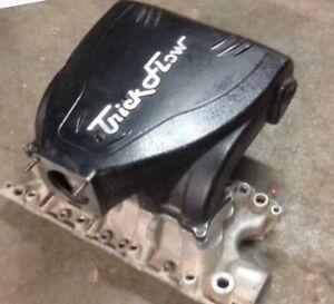 Ford 5 0 302 Trickflow Trackheat Upper And Lower Intake