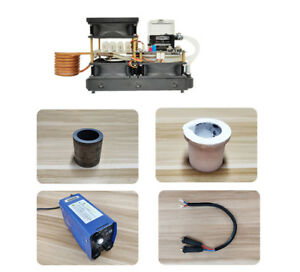 220v 2500w Zvs Induction Heating Machine Kit Miniature Metal Melting Furnace New