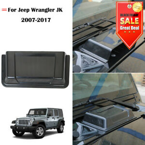 Air Intake Hood Scoop Vent Cover Abs Accessories Fit 2007 2017 Jeep Wrangler Jk