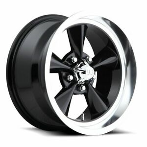 Four 4 15x7 Us Mag Standard Et 5 Black 5x120 65 5x4 75 Wheels Rims