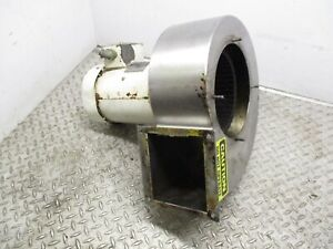 Leeson Squirrel Cage Blower c6t34fwc5b 3hp 208 230 460v 3450 Rpm