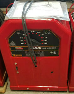 Lincoln Electric K1170 Ac225 Arc Welder New Out Of The Box Col Ohio Pickup Only