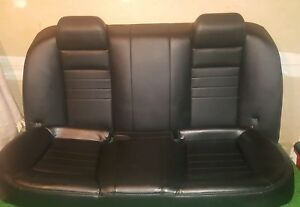 2008 2018 Dodge Charger Rear Seats Police Back Seat Black Charcoal