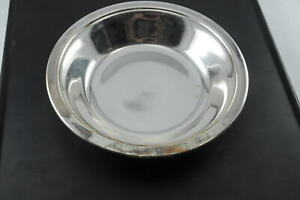 Reed Barton Silverplate Candy Dish Colonial 6