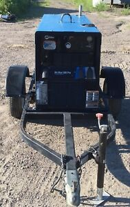 2013 Miller Big Blue Eco Pro 300 Welder Generator Caterpillar Diesel Engine