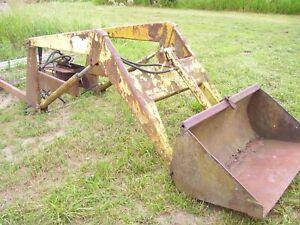 Vintage Kelley Front End Tractor Loader 2 Spool Hyd Valve farmall M