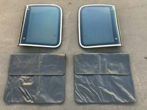 84 89 Nissan 300zx Z31 2 0 Roof T top Left Right Set W Oem Key Lock Bags Covers