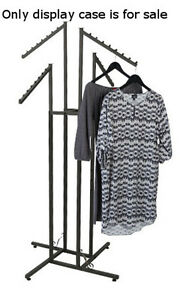 4 Way Boutique Clothing Rack In Vintage 48 72 Inches With Slant Arms