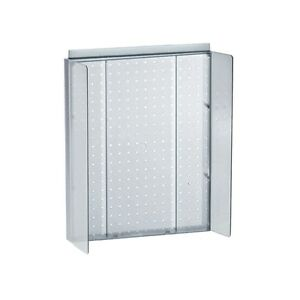 Clear Pegboard Powerwing Display 16w X 20 25h Inches