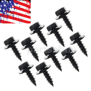 10x Bumper Engine Transmission Splash Shield Cover Rivet Clip Bolt Screw For Bmw