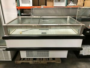 Hussman Island Freezer Merchandiser For Grocery Deli Market New Old Stock