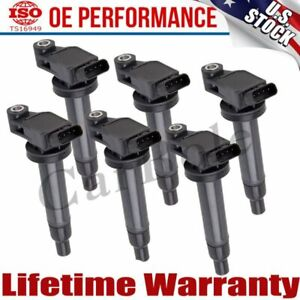 Usa 6 Ignition Coil Pack Uf267 For Toyota Camry Avalon Lexus Es300 Rx300 3 0l V6