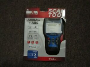 New Innova 3160g Scan Tool Airbag Abs Feature Level 3