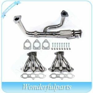 For Acura Cl Tl Honda 3 0l 3 2l Sohc Stainless Steel Header Exhaust Manifold