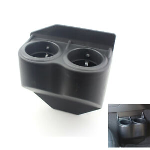 Dual Double Cup Drink Holder Beverage Black For C5 Corvette Travel Buddy 97 13