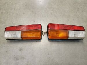 79 80 81 82 83 84 85 Fiat 124 Spider Altissimo Oem Tail Light Set Left And Right