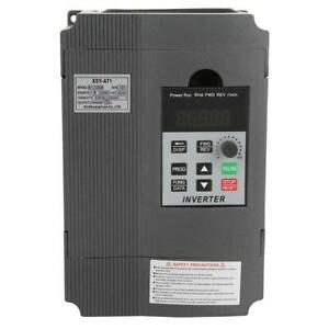 2 2kw 220v Single Phase Variable Frequency Drive Frequency Converter Inverter