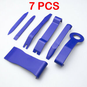 7piece Car Door Plastic Trim Panel Dash Installation Removal Pry Tool Kit Parts