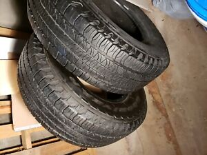 Goodyear Tires 2 Hl Edition P265 70r16 Rim Size 16 Inches Used Made In Can
