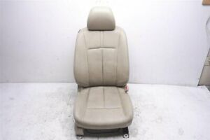 09 10 Nissan Altima Front Right Passenger Seat Tan