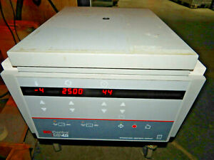 Iec International Centra Mp4r Refrigerated Tabletop Centrifuge Tested working