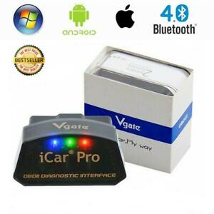 Vgate Icar Pro Bluetooth 4 0 Bimmercode Bmw Coding Iphone Ipad Android Obd2