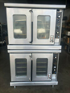 Montague Vectaire Ek15 Double Stack Convection Oven 1 phase 208v 240v Electric