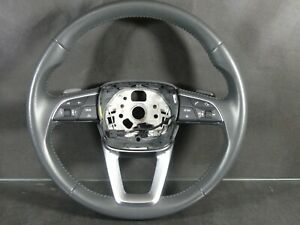 Audi Q5 80a 2016 3 Spokes Sports Leather Steering Wheel Granit Gray
