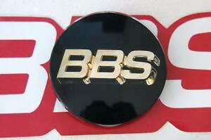1 Bbs Black Gold 3 d Logo 70mm 3 Tab Center Cap 09 23 221g 09 23 221 Rz Rs Lm