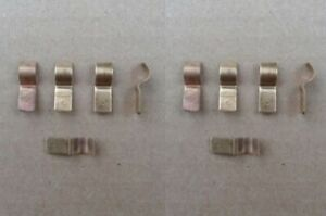 10 Old School Glass Fuse Taps 81 2003 Semi truck Sleeper Cat Kenworth Rig Bed