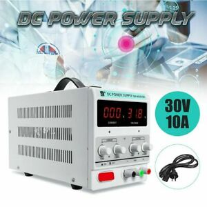Digital Dc Power Supply 30v 10a Precision Variable Adjustable For Lab Grade At
