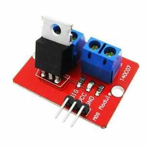 Smart Electronic 0 24v Mosfet Mos Tube Irf520 Driver Module For Raspberry Pi Arm