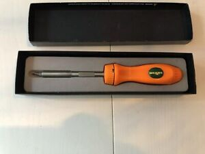 Snap On Ssdmr4b Ratcheting Screwdriver Chicago Bears Collector S Edition Nfl Box