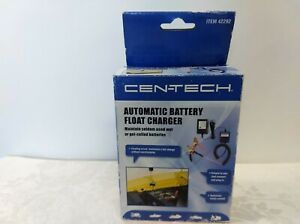 Cen Tech Automatic Battery Float Charger 42292 12v Atv S Motorcycles Boats