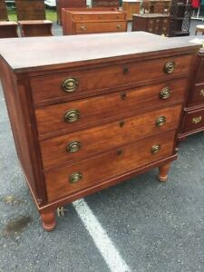 Early Chest Of Drawers Dresser