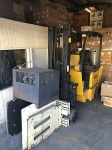 Bendi B30 Forklift With Clamper Needs Battery