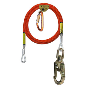 Climb Right 5 8 X 10 Wire Core Flipline Kit W Rope Grab And Carabiner 75242