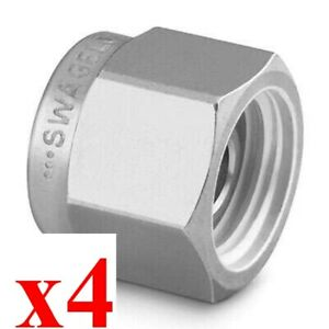 X4 New Swagelok Ss 1610 p 316 Stainless Steel Plug For 1 In Tube Fitting