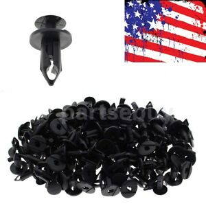100 Fender Bumper Rivet Clips For Jeep Grand Cherokee Commander Liberty Wrangler