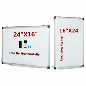 Vertical Compatible Dry Erase Board Magnetic Markers School Small Whiteboard