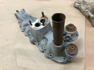 Flathead Ford V8 60 Aluminum Intake Manifold With Fuel Pump